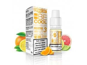E-liquid Pinky Vape 10ml / 12mg: Be Cool (Citrus mix)