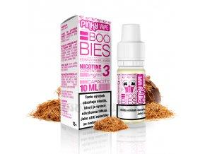 E-liquid Pinky Vape 10ml / 12mg: Boobies (Holandský tabák)