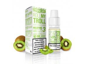 E-liquid Pinky Vape 10ml / 12mg: Roll My Troll (Kiwi mix)