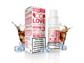 E-liquid Pinky Vape 10ml / 18mg: Co Love (Cola)