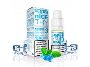 E-liquid Pinky Vape 10ml / 18mg: nIce Try (Ledový bonbon)