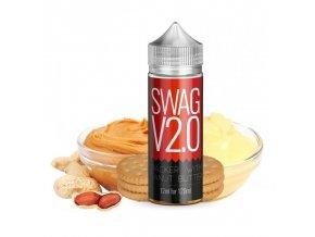 Příchuť Infamous Originals S&V: Swag V2.0 (Grahamové sušenky a burákové máslo) 12ml