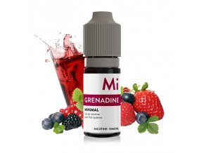 E-liquid The Fuu MiNiMAL 10ml / 10mg: Grenadine (Ovocný sirup)