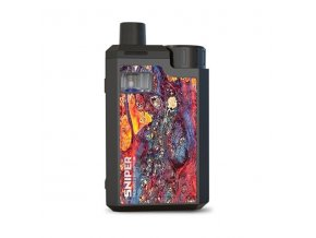 Elektronická cigareta: Hotcig Sniper 80W Pod Kit (Danxia Red)