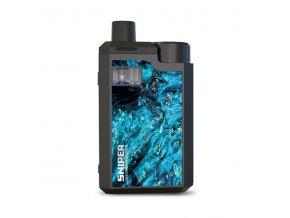 Elektronická cigareta: Hotcig Sniper 80W Pod Kit (Miami Blue)