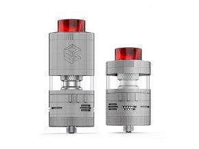 Clearomizér Steam Crave Aromamizer Plus V2 RDTA - Advanced Kit (8ml/16ml) (Stříbrný)