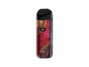 Elektronická cigareta: SMOK Nord 2 Pod Kit (1500mAh) (Red Stabilizing Wood)