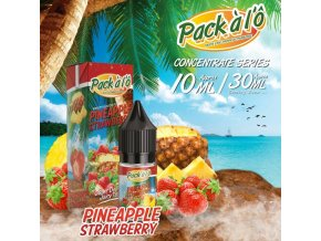 Příchuť Pack ALO: Pineapple Strawberry (Ananas s jahodami) 10ml
