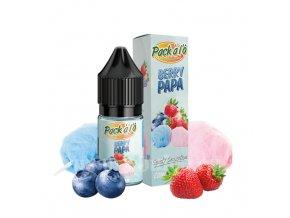 Příchuť Pack ALO: Berry Papa (Cukrová vata s bobulovitým mixem) 10ml