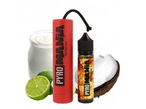 Příchuť Pyromania S&V: Destruction (Jogurt s limetkou a kokosem) 15ml