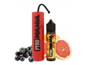 Příchuť Pyromania S&V: Fuze (Grapefruit a černý rybíz) 15ml