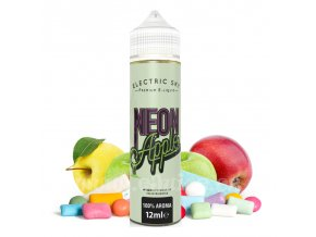 111797 prichut electric sky shake vape neon apple jablko s tony zvykacky 12ml