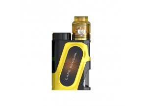 Elektronický grip: IJOY CAPO Squonker Kit s Combo RDA Triangle (Zlatý)