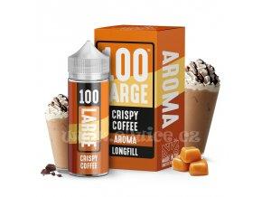 Příchuť Large Juice S&V: Crispy Coffee (Káva s karamelem a smetanou) 30ml