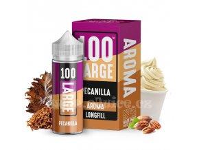 Příchuť Large Juice S&V: Pecanilla (Pekanové ořechy s krémem a tabákem) 30ml