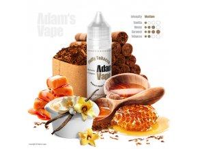 Příchuť Adams vape S&V: Fluffy Tobacco (Sladká tabáková směs) 12ml