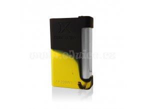 Silikonové pouzdro pro SMOK XCUBE Ultra TC 220W (Černo-žluté)
