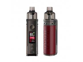 Elektronická cigareta: VooPoo Drag S Pod Kit (2500mAh) (Marsala)