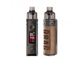 Elektronická cigareta: VooPoo Drag S Pod Kit (2500mAh) (Retro)