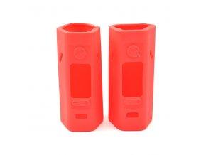 Silikonové pouzdro pro Wismec Reuleaux RX2/3 TC (Červené) (2ks)