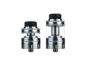 Clearomizér Augvape Boreas V2 RTA 2,5ml/5ml (Stříbrný)