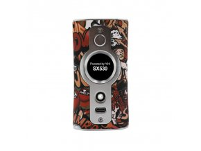 Elektronický grip: Vsticking VK530 200W Mod (J-Graffiti-Silver)
