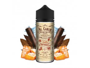 Příchuť Al Carlo S&V: Salted Caramel (Karamel & tabák) 15ml