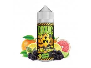 Příchuť Toxic S&V: Atomic Power (Citrusový mix s ostružinou) 15ml
