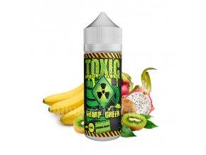 Příchuť Toxic S&V: Sharp Green (Kaktus, kiwi a banán) 15ml