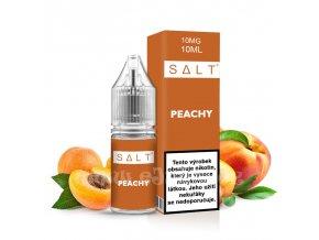 E-liquid Juice Sauz SALT 10ml / 10mg: Peachy (Broskve a meruňky)