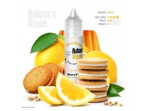 Příchuť Adams vape S&V: Lemon Bomb by Karotka (Kyselý citron se sušenkou) 10ml