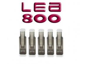 [!Doprodej] - Cartridge pro atomizéry LEA 800 (Černé čiré) - PLOCHÉ