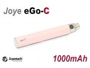 Baterie Joyetech eGo-C - (1000mAh) (Růžová) - UPGRADE