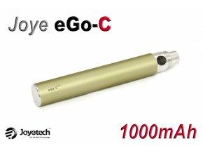 Baterie Joyetech eGo-C - (1000mAh) (Titanová) - UPGRADE