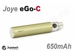 Baterie Joyetech eGo-C - (650mAh) (Titanová)