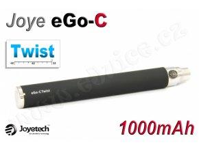 Baterie Joyetech eGo-C TWIST - (1000mAh) (Černá)