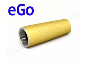 Kónusový kryt atomizéru eGo (Zlatý matný)