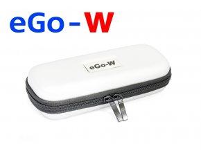 Pouzdro pro elektronickou cigaretu (logo eGo-W) (Bílé)