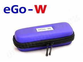 Pouzdro pro elektronickou cigaretu (logo eGo-W) (Modré)