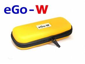 Pouzdro pro elektronickou cigaretu (logo eGo-W) (Oranžové)