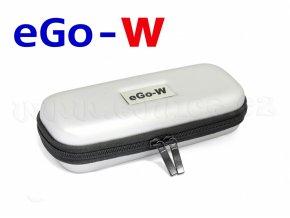Pouzdro pro elektronickou cigaretu (logo eGo-W) (Stříbrné)