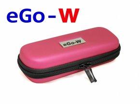 Pouzdro pro elektronickou cigaretu (logo eGo-W) (Tmavě růžové)