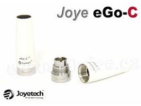 Základna + krytka atomizéru Joyetech eGo-C (Bílá)