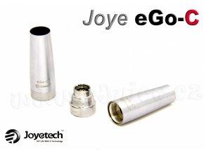 Základna + krytka atomizéru Joyetech eGo-C (Chromová)