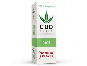 CBD Vape Liquid - 10ml - 300mg - 3% - Aloe