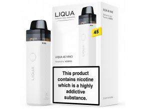 Liqua 4S Vinci - Pod Kit - 1500mAh - Bílá