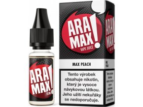 Liquid ARAMAX Max Peach 10ml 12mg