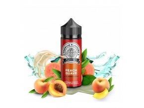 Příchuť Dexters Juice Lab - Origin S&V: Peach Guave (Broskev a guava) 30ml