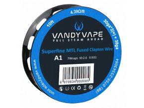 Vandy Vape - Kanthal - Superfine MTL Fused Clapton - Kanthal A1 - odporový drát - 3 m