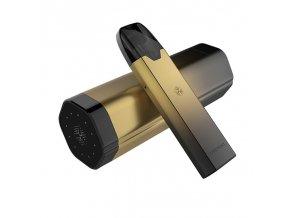 Elektronická cigareta: Uwell Tripod PCC Pod Kit (370mAh + 1000mAh) (Black Gold)